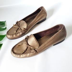 Mootsies Tootsies Moma Lorry Leather Loafers